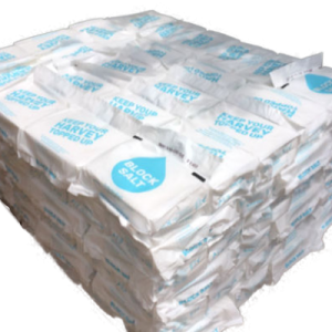 1 Pallet of Harvey's Block Salt (138 packs)
