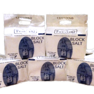 5 Packs of TwinTec Block Salt