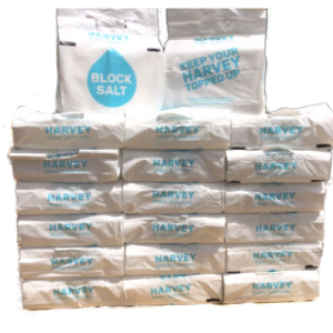 20 Packs of Harvey's Block Salt