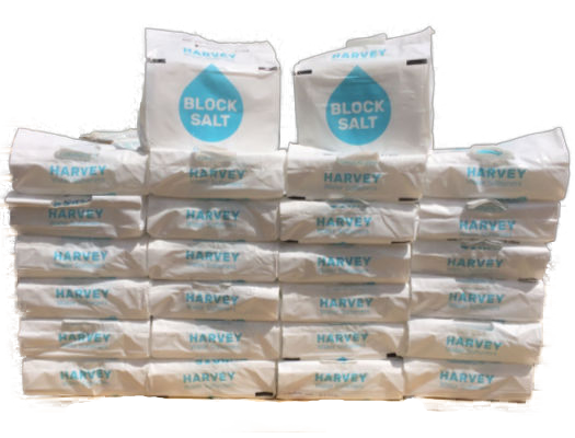 30 Packs of Harvey's Block Salt
